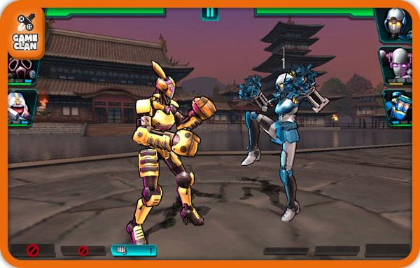 Бой в Ultimate Robot Fighting