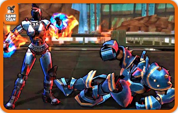 Графика в Ultimate Robot Fighting