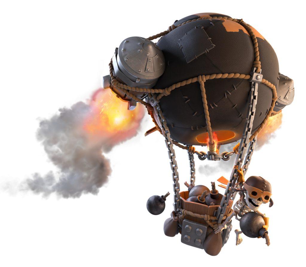 Ракетный шар в Клэш Оф Кланс